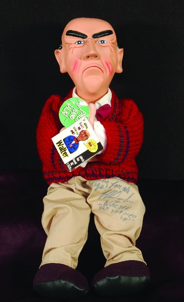 11: 11* Walter doll autographed and dedicated to Dick C