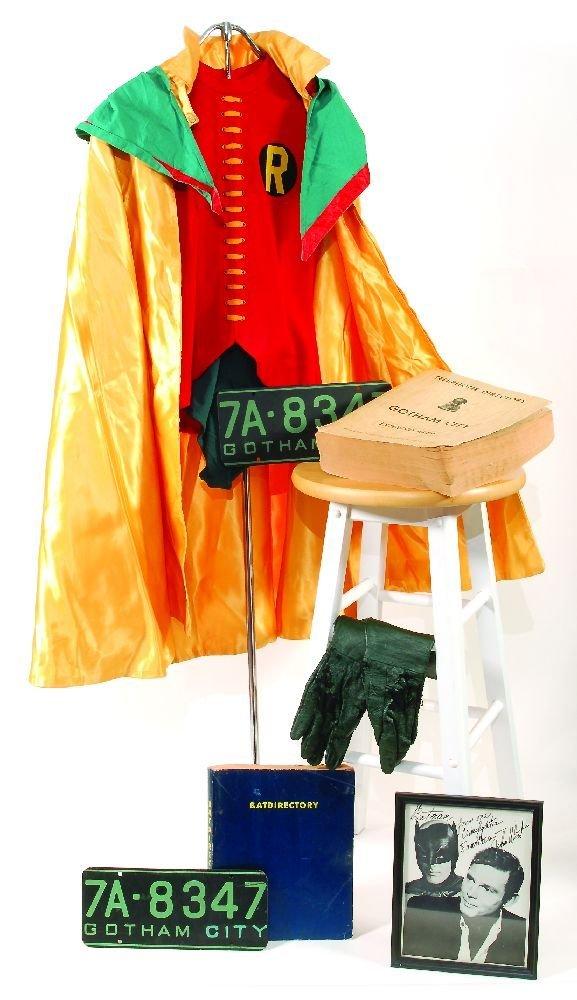 "13: Original Burt Ward ""Robin"" suit from BATMAN"