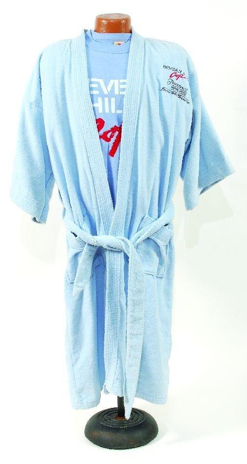 "14: 14*""Beverly Hills Cop"" souvenir robe and prop pisto"