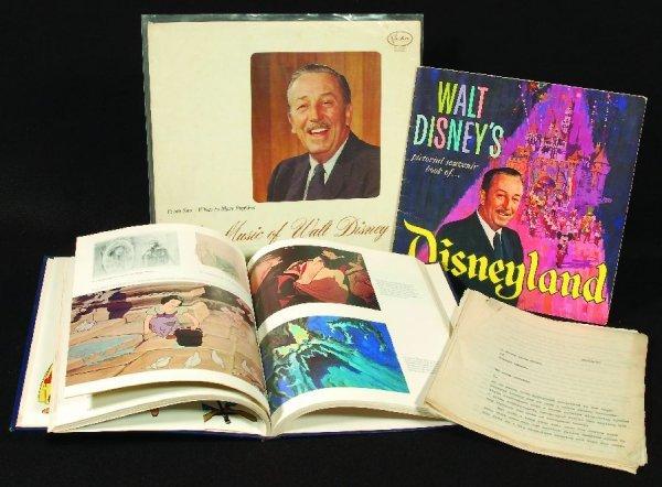 20: Walt Disney original typed interview, 1930s