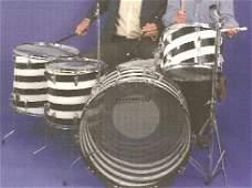 206: 206** Led Zeppelin - John Bonham's drum kit