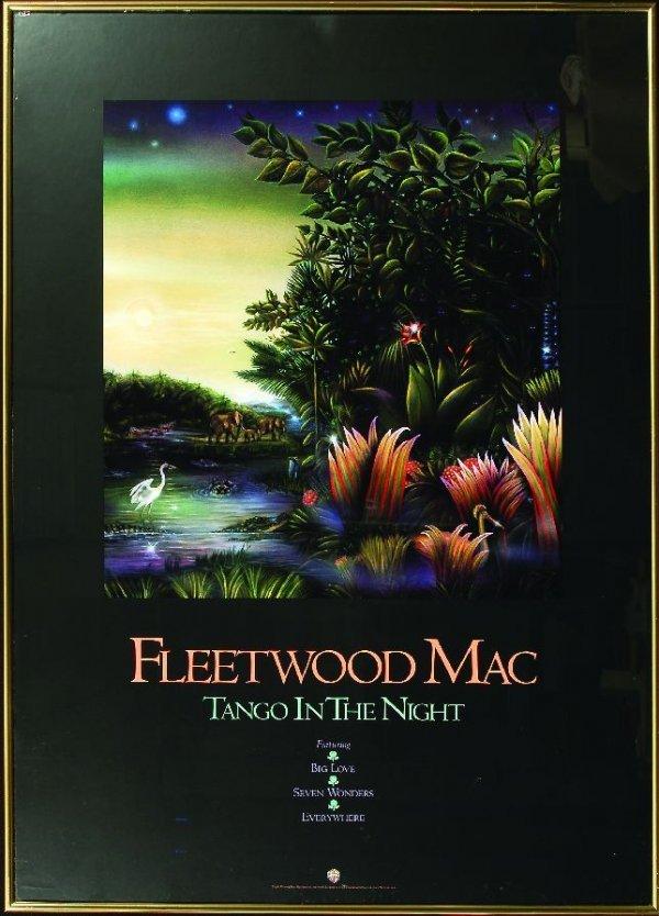 """230: 230* Fleetwood Mac """"Tango In The Night"""" poster"""