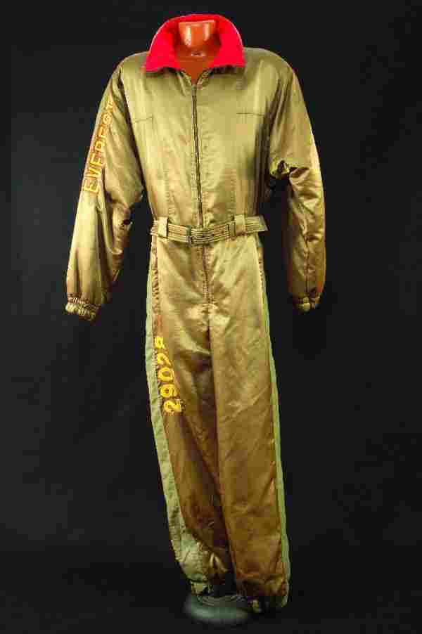 """259: Elton John green jumpsuit from the """"Jump Up"""" Tour"""