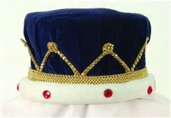 262 Elton John stageworn crown