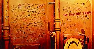 297 The Rolling Stones Beggars Banquet promo poster