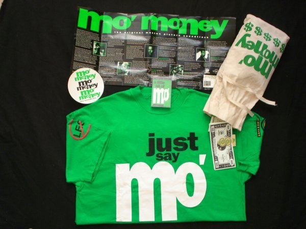 9: Mo Money Promotional Material.