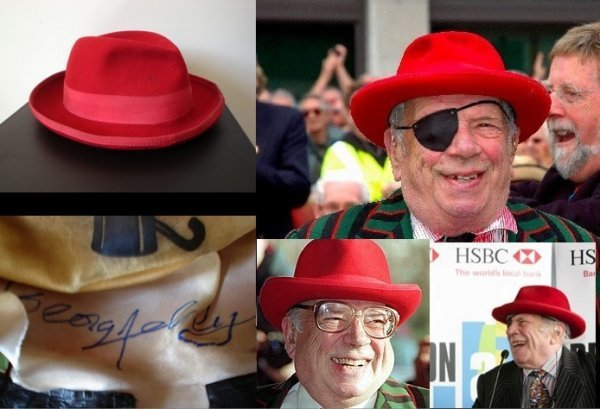 22: George Melly's Famous Red Trilby Hat