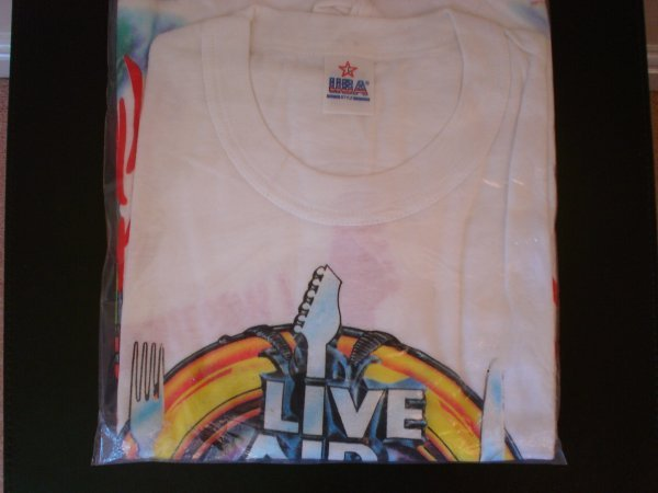 24: Live Aid  An Official Live Aid T shirt made by USA