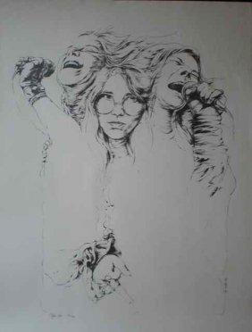 A Poster For Janis Joplin 'Summertime'