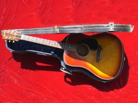 Cliff Richard Guitar  Owned & Played Gibson