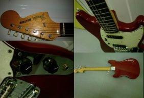 Ike Turner's Guitar  A Fender Mustang Slab Board Gu