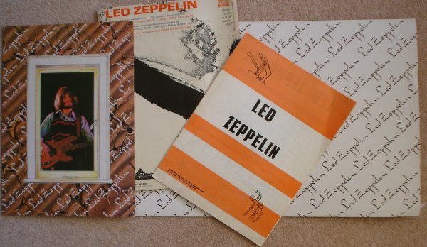 80: Led Zeppelin – Song Book and Show book