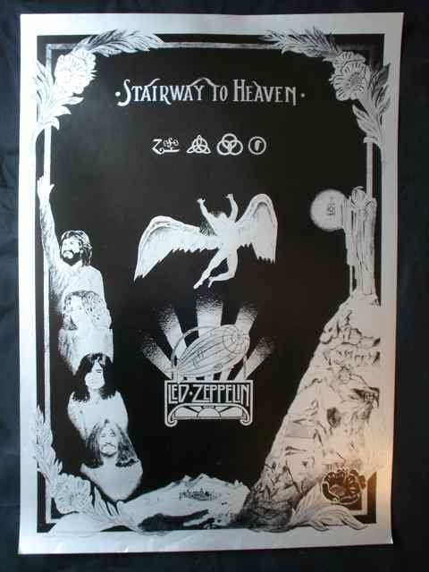 81: A Poster for Led Zeppelin's Stairway to Heaven
