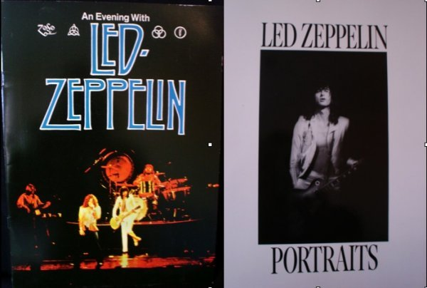 82: Led Zeppelin Photo Book and 1977 Tour Brochure