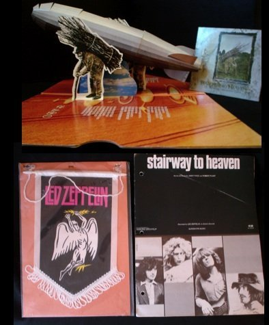 83: Led Zeppelin Stairway to Heaven An extremely rare p