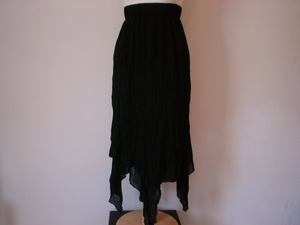 130: Stevie Nicks Black stage costume.