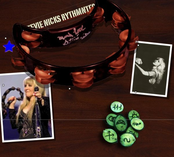 138: Stevie Nicks' personal signed Rythnmntec Tambourin