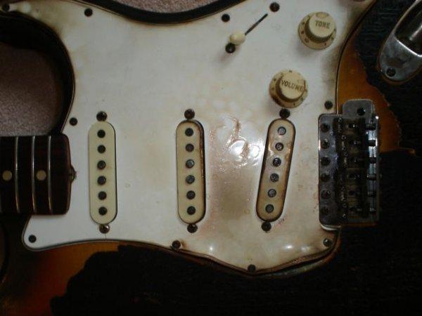 221: Jimi Hendrix First Burnt Guitar - 2