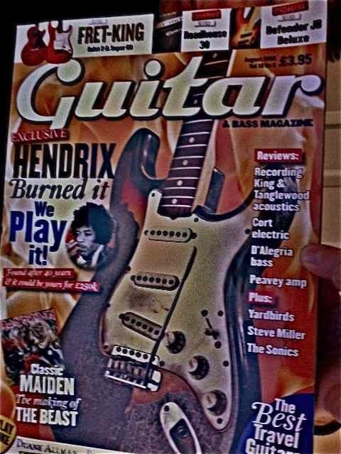 221: Jimi Hendrix First Burnt Guitar - 3