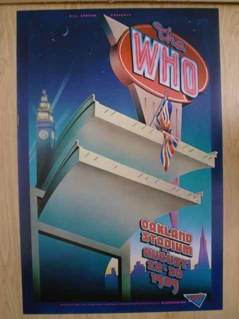 1005: A poster for BGP featuring The Who August 29-30 1