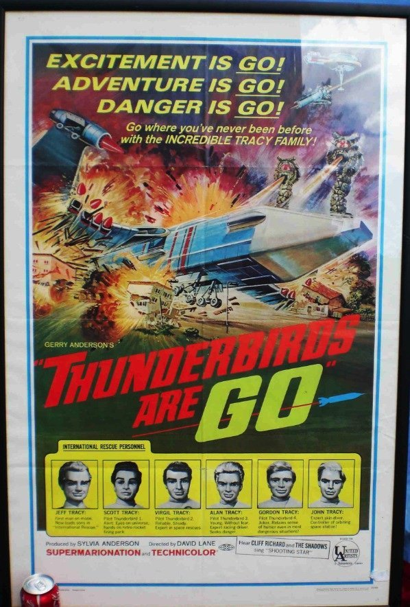 3010: THUNDERBIRDS  An original rare United Artists Thu
