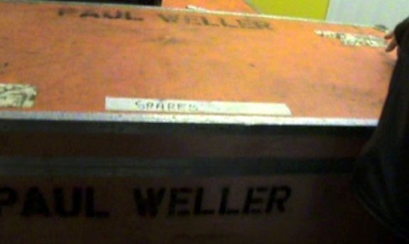 3031: Paul Weller Two large flight cases owned by Paul