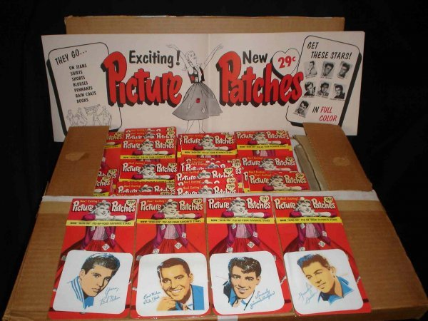 3041: Dick Clark Merchandising 1950s Iron on Patches