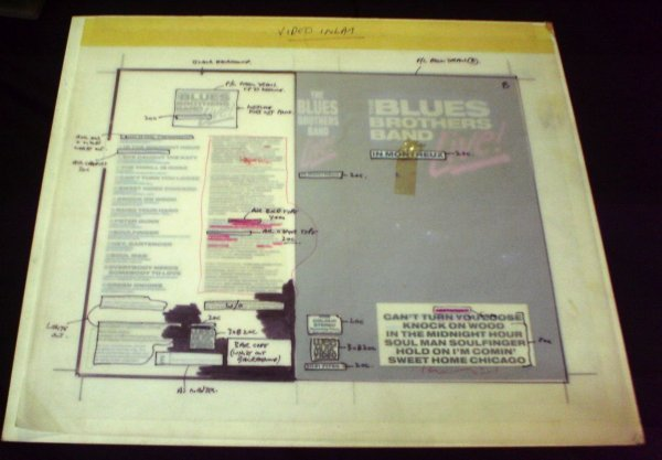 1: The Blues Brothers Live in Montreaux  Cromalin proof - 5