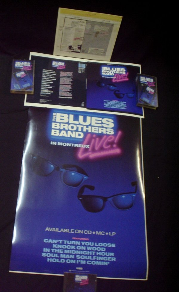 1: The Blues Brothers Live in Montreaux  Cromalin proof - 6