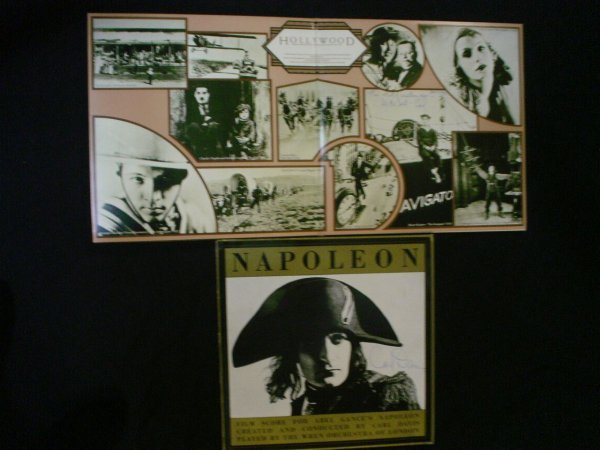 2: Carl Davis – 2 LPs for film scores, Napoleon and Hol
