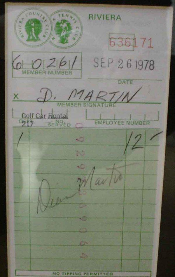 10: Dean Martin An Original Painting by James Wilkinson