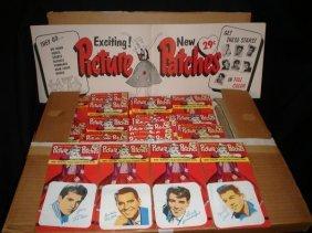 15: Dick Clark Merchandising 1950s Iron on Patches