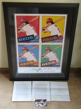 19: Andy Warhol PETE ROSE by ANDY WARHOL 'LTD Edition