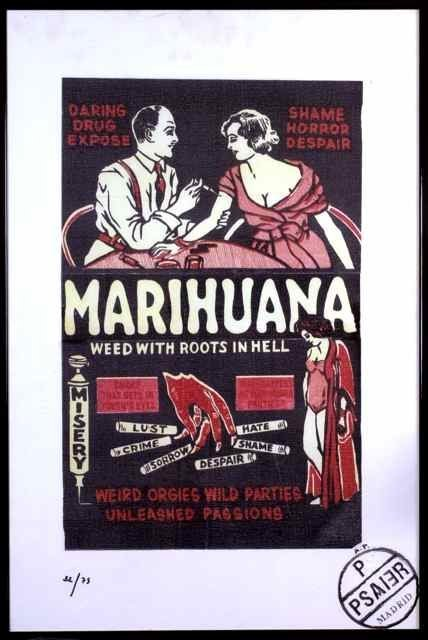 20: Pietro Psaier Marijuana Lithograph PIETRO PSAIER 19