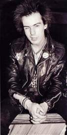 108: Sid Vicious His Own Rabbit Padlock and Chain