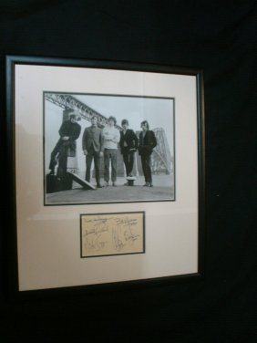 198: Rolling Stones A fabulous early b/w photograph