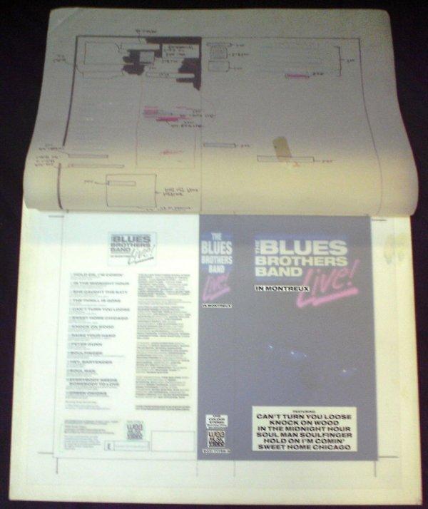 301: The Blues Brothers Original Artwork