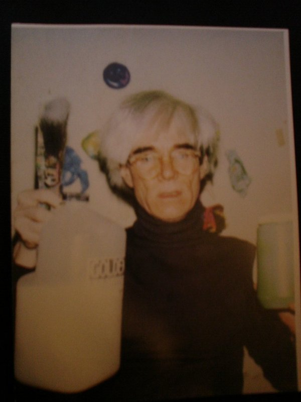 318: Andy Warhol His Personal Mohair poloneck sweater