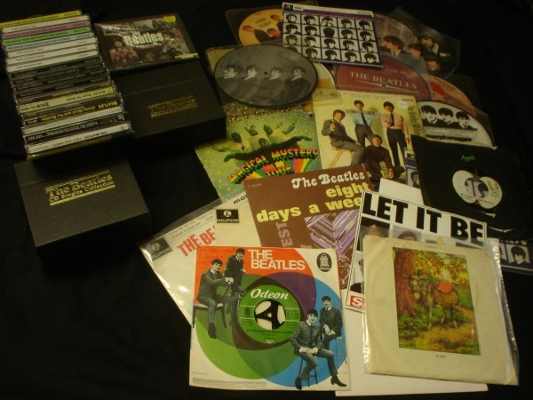 507: Beatles Rare Beatles 45s EPs Picture Discs