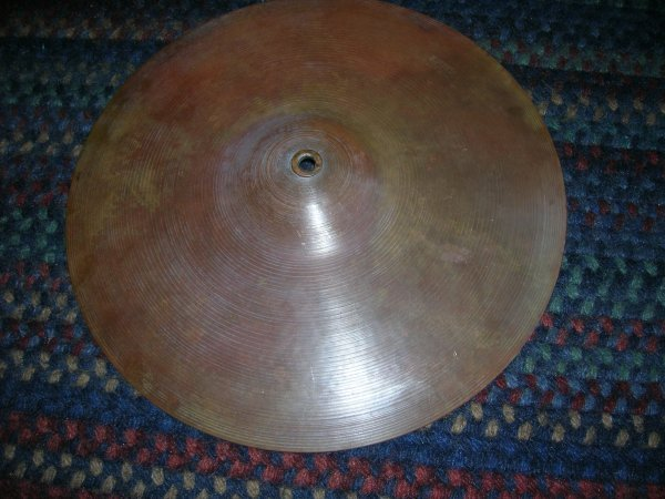 """547: Beatles Ringos Starr's cymbal A 14"""" Krut Special"""