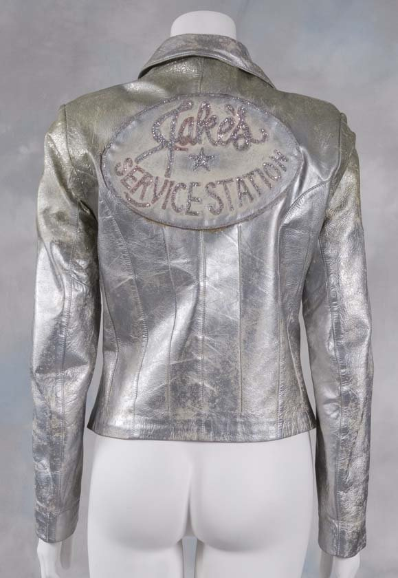 68: Grease 2 The silver motorcycle jacket worn in the m
