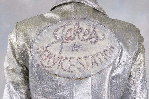 68: Grease 2 The silver motorcycle jacket worn in the m - 2
