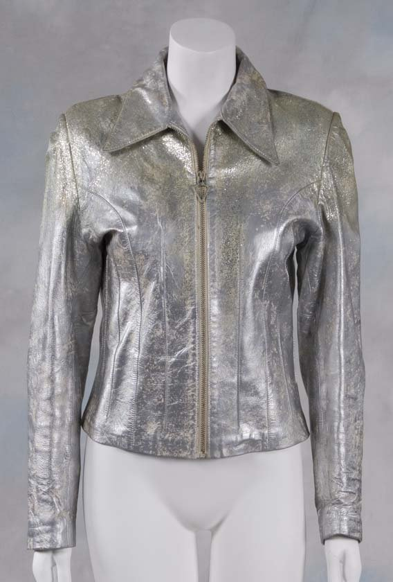 68: Grease 2 The silver motorcycle jacket worn in the m - 4