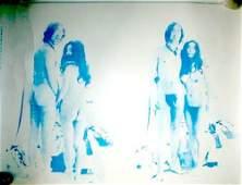 376: John Lennon-Yoko Ono Two Virgins promo poster