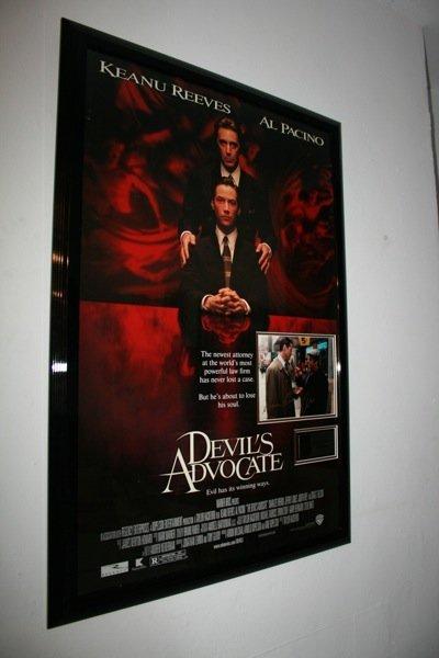 7: Al Pacino, Keanu Reeves  - Devils Advocate - Signed