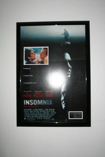9: Al Pacino, Robin Williams - Insomnia - Signed Photo