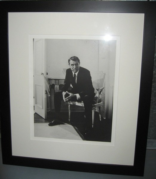 12: Cary Grant  - Signed Photo Framed