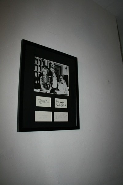 15: Fawlty Towers - Signature of Cast - Framed
