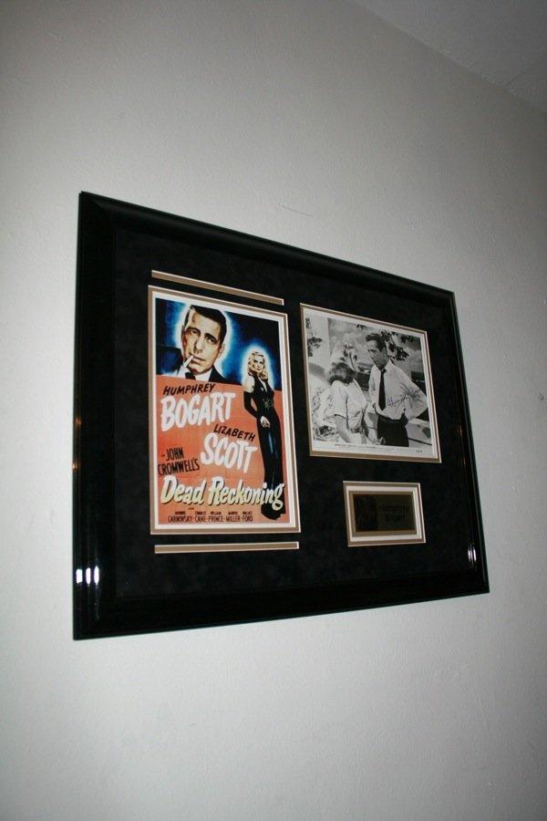 18: Humphrey Bogart - Signed Photo Framed