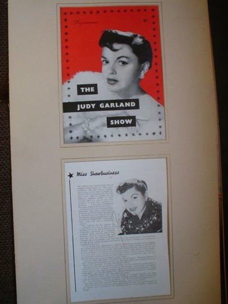 26: The Judy garland  programme & Autograph
